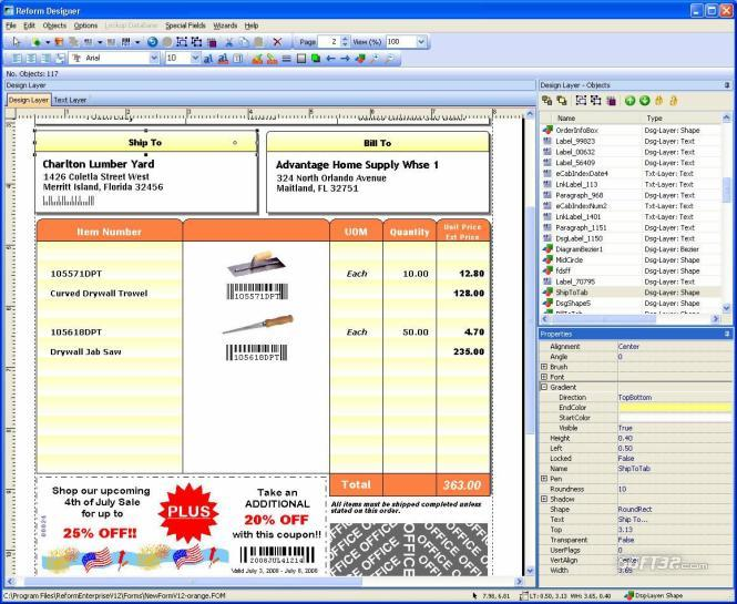 Reform VDP Screenshot 1