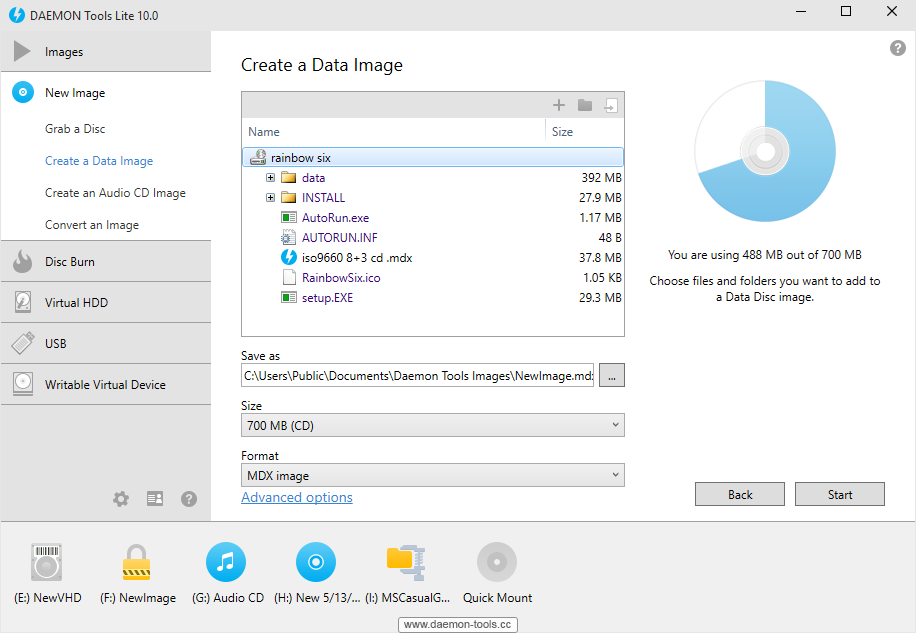DAEMON Tools Lite Screenshot 3