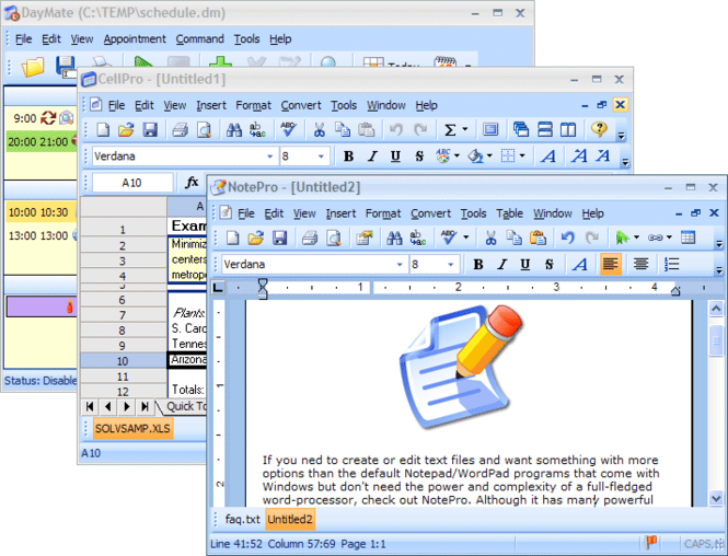 Crystal Office Screenshot 1