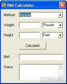 Body Mass Index BMI Calculator Screenshot 2