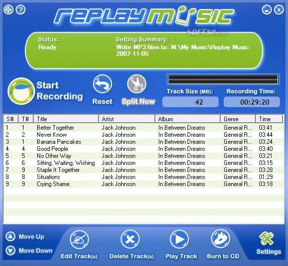 Replay Music Screenshot 2