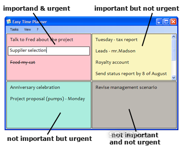 Easy Time Planner Screenshot 2