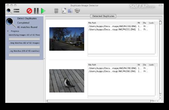Duplicate Image Detector Screenshot