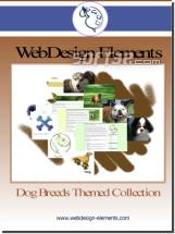 Dog Breed Web Elements Screenshot 2