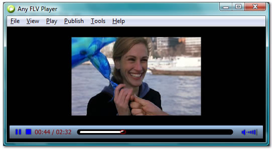 AnvSoft FLV Player Screenshot