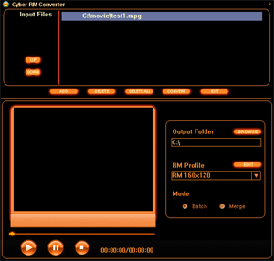 Cyber RM Converter Screenshot