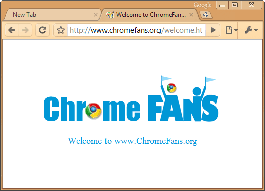 Burlywood Google Chrome Theme Screenshot 1