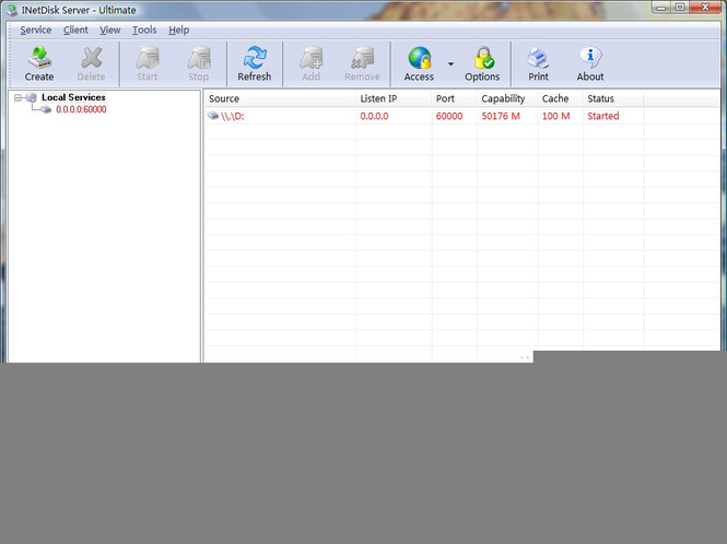 INetDisk Screenshot 2
