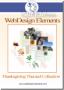 Thanksgiving Web Elements 3