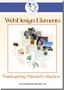 Thanksgiving Web Elements 1