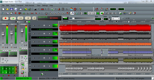 n-Track Studio Screenshot