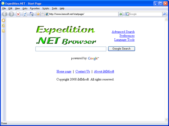 Expedition.NET Screenshot