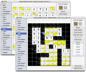 Amigos Number Puzzles (Mac) Screenshot