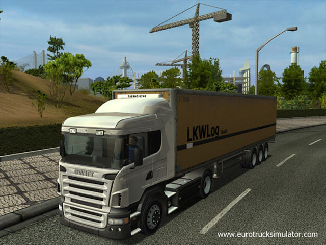 Euro Truck Simulator Screenshot 2