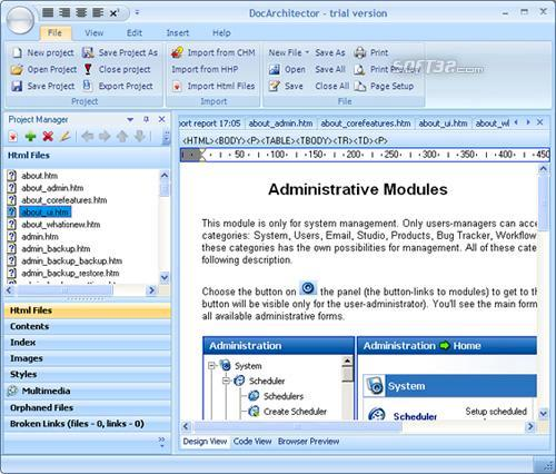 DocArchitector Screenshot