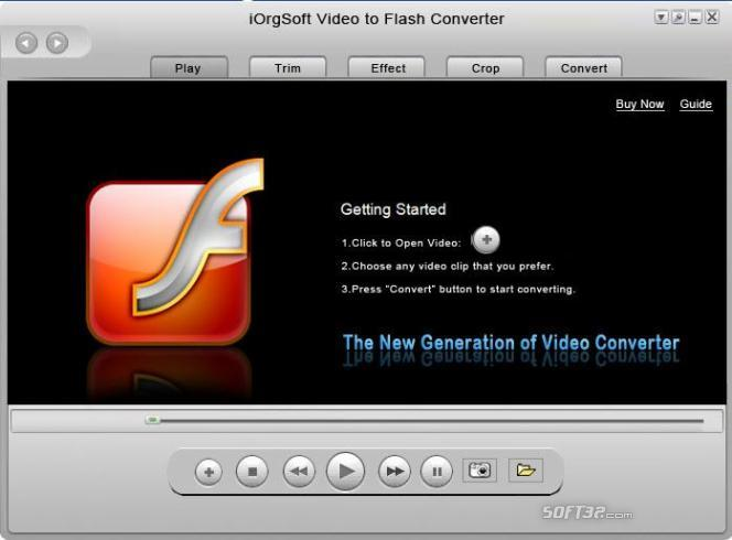 iOrgSoft Video to Flash Converter Screenshot 2