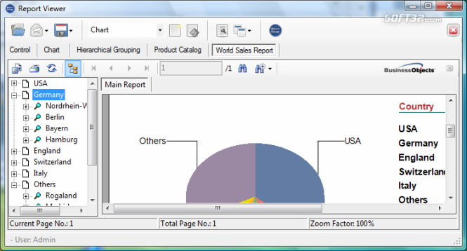 Report Viewer for Crystal Reports Screenshot 2
