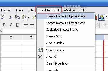 Excel Assistant Screenshot