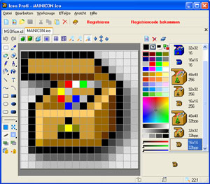 Icon Profi Screenshot 1