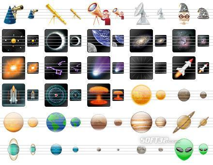 Space Icons Screenshot 2