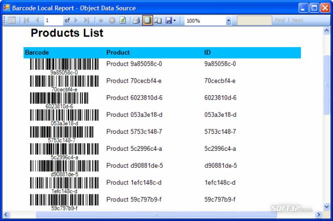 Barcode Professional SDK for .NET Screenshot 2