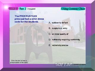 College Vocabulary Screenshot 3