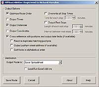 RouteWriter Screenshot