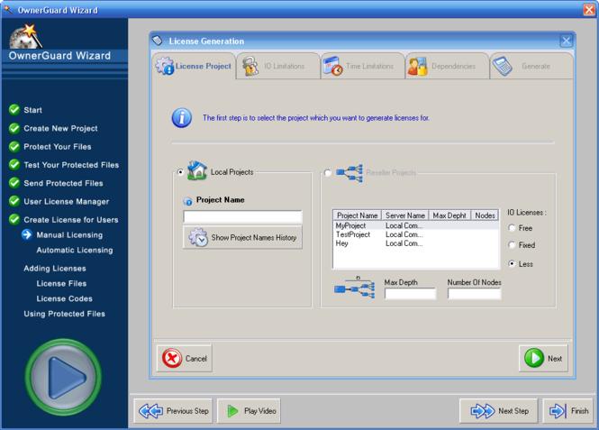 PDF Security OwnerGuard Screenshot