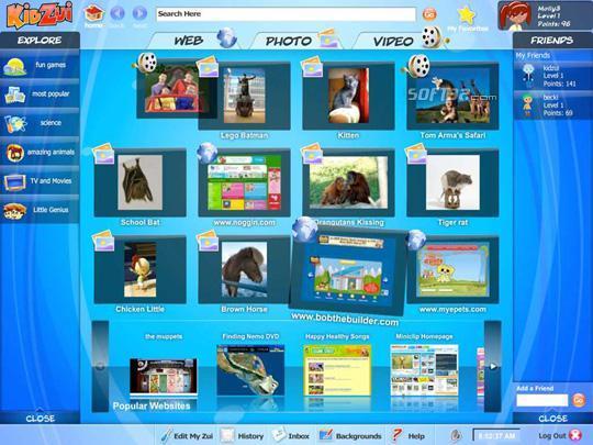 KidZui - The Internet for Kids Screenshot 1