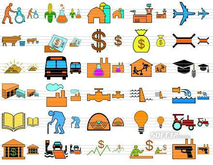 Standard Infrastructure Icons Screenshot 3