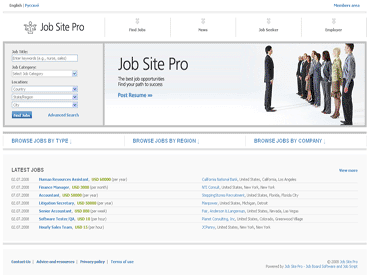 PG Job Site Pro Screenshot