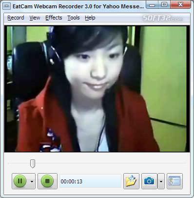 EatCam Webcam Recorder for Yahoo Messenger Screenshot 3