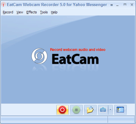 EatCam Webcam Recorder for Yahoo Messenger Screenshot