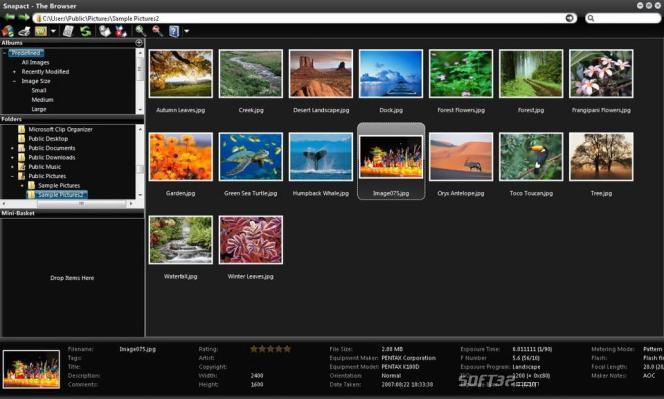 Snapact Photo Manager Screenshot 3