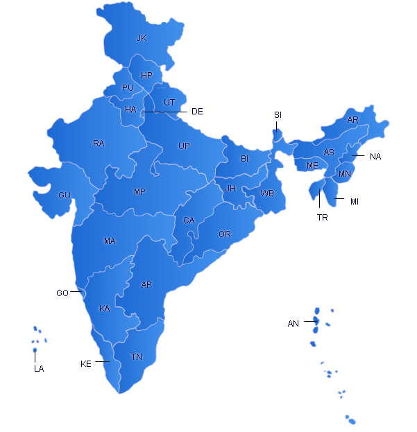 Flash Map India Screenshot 1