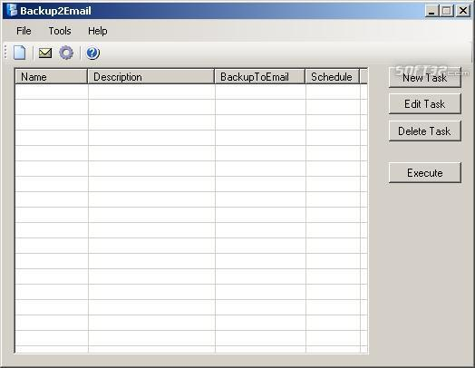 Backup2Email Screenshot 3