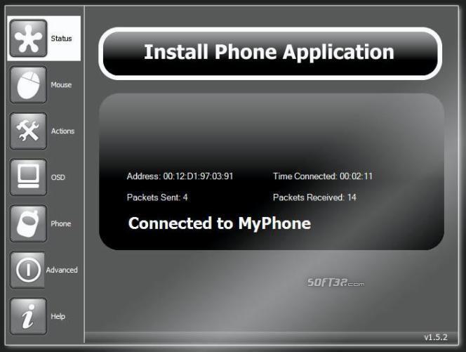 UberRemote+WMP Screenshot