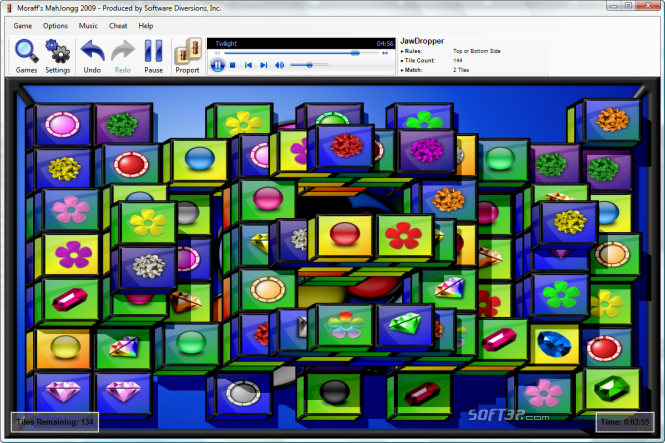Moraff's MahJongg 2009 Screenshot 3