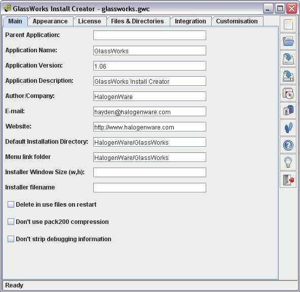 GlassWorks Screenshot