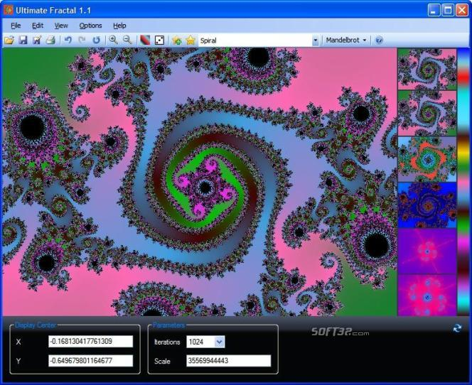 Ultimate Fractal Screenshot 3