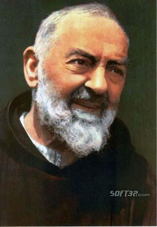 Holy Pio Screen Saver Screenshot