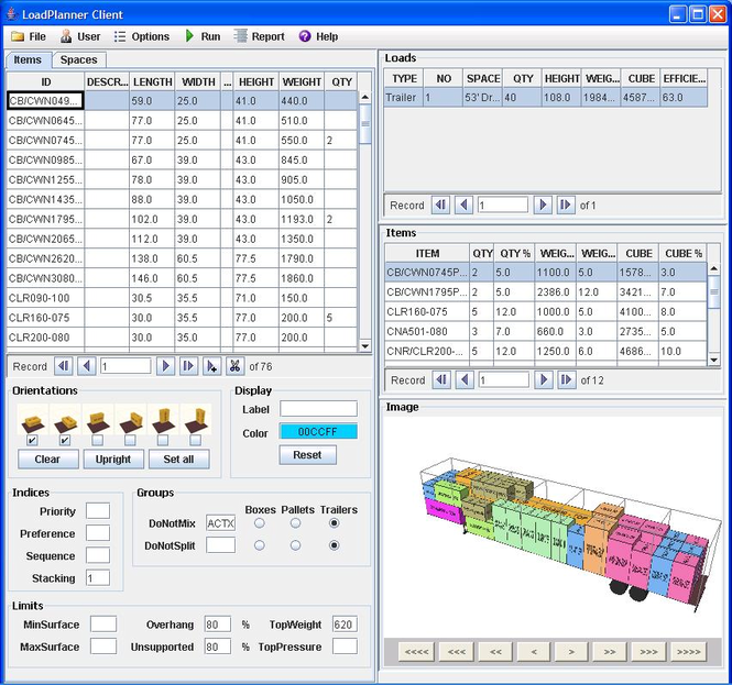 LoadPlanner Desktop Screenshot 3