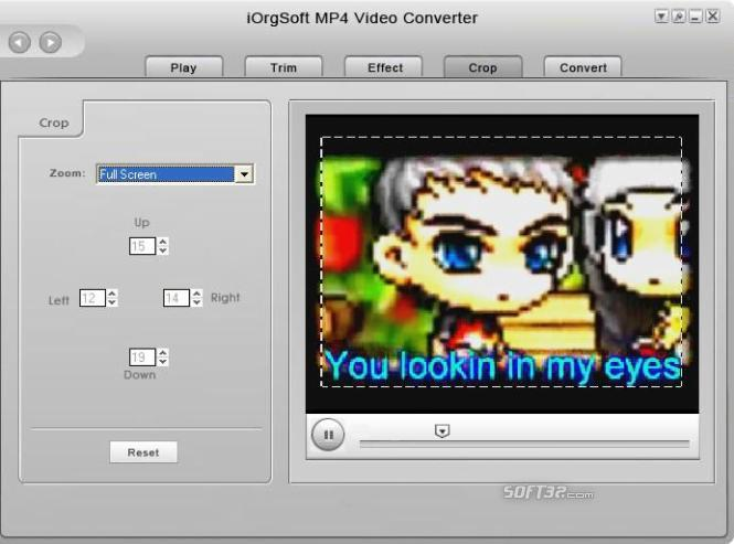 iOrgSoft MP4 Video Converter Screenshot 2