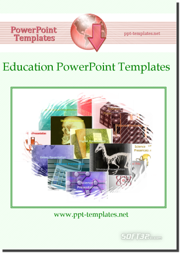 Education PowerPoint Templates Screenshot