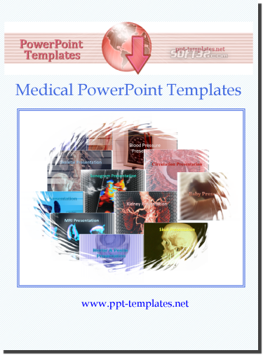 Medical PowerPoint Templates Screenshot
