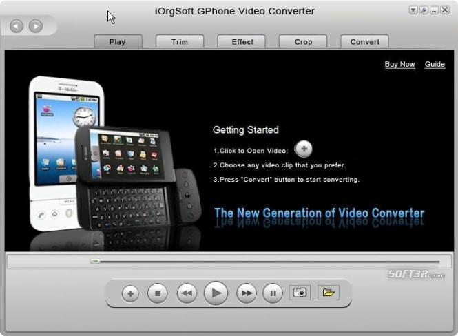 iOrgSoft GPhone Video Converter Screenshot 3