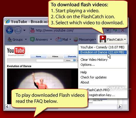 FlashCatch Screenshot 2