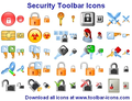 Security Toolbar Icons 1