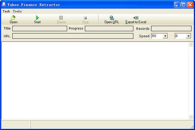 Knowlesys Web Data Extractor Screenshot