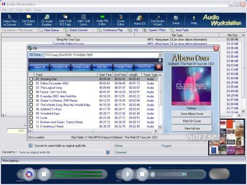 Audio Workstation Screenshot